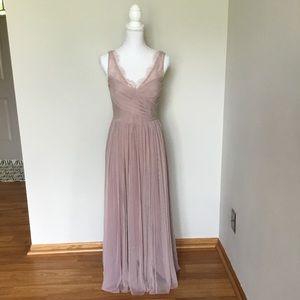 Anthropologie Dresses - Anthropologie Hitherto Fleur Dress Wedding Formal
